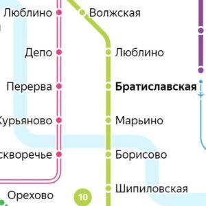 Сантехник на станции метро Братиславская