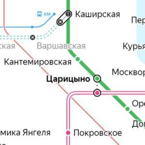 Сантехник на станции метро Царицыно