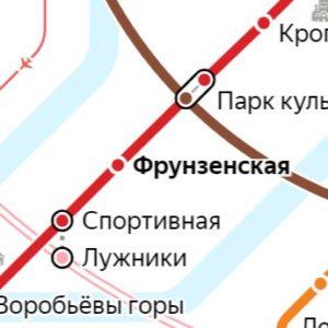 Сантехник на станции метро Фрунзенская