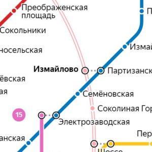 Сантехник на станции метро Измайлово