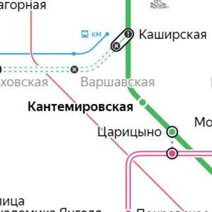 Сантехник на станции метро Кантемировская