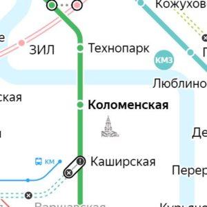 Сантехник на станции метро Коломенская