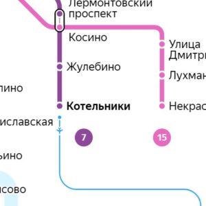 Сантехник на станции метро Котельники