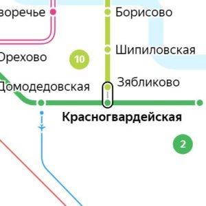 Сантехник на станции метро Красногвардейская