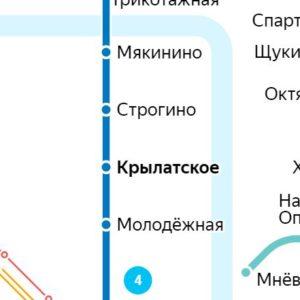 Сантехник на станции метро Крылатское