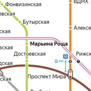 Сантехник на станции метро Марьина Роща