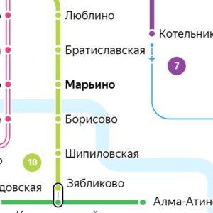 Сантехник на станции метро Марьино