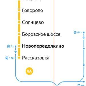 Сантехник на станции метро Новопеределкино