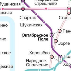 Сантехник на станции метро Октябрьское поле