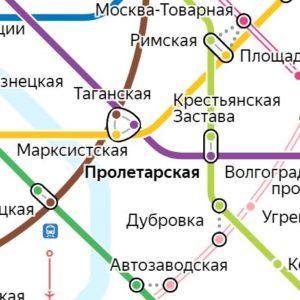 Сантехник на станции метро Пролетарская