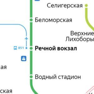 Сантехник на станции метро Речной вокзал