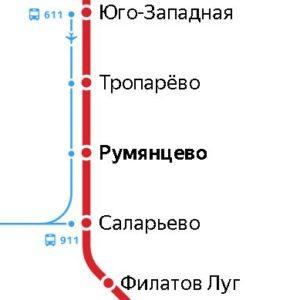 Сантехник на станции метро Румянцево