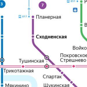 Сантехник на станции метро Сходненская