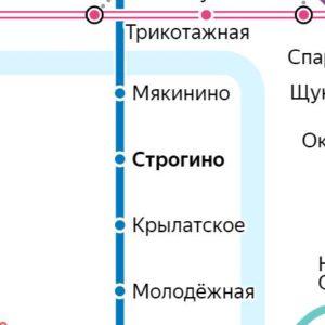 Сантехник на станции метро Строгино