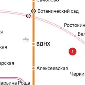Сантехник на станции метро ВДНХ