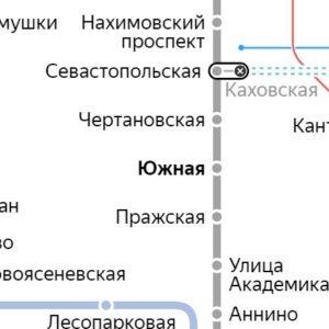Сантехник на станции метро Южная