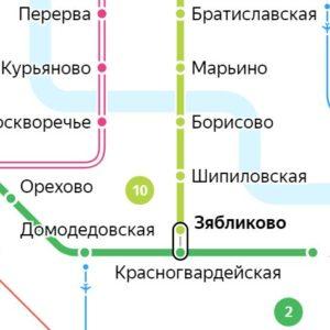 Сантехник на станции метро Зябликово